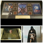 Star Wars Trilogy Film Cell Darth Vader/Princess Leia General Veers Signed NEW