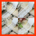 Brand New White Lace Adhesive Tape No.29 to 32