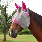 CASHEL CRUSADER Horse Fly Mask WITH EARS ALL SIZES COLORS Gray Blue Pink Orange фото