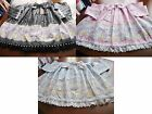 Bodyline Sweet Lolita Carousel Print Skirt 3 Colors Size 2L or T2L NWT