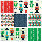 Riley Blake Nutcracker Christmas ~  fat quarter bundle ~ xmas crafts 100% cotton