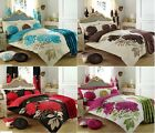 KEW Duvet Set Quilt Cover Pillow Case Bedding Single Double & King Bed