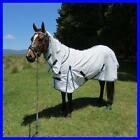LOVE MY HORSE 5'0 - 6'6 Blue Poly Cotton Diamond Weave Cotton Ripstop Combo Rug