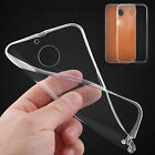 Ultra Thin Clear Soft TPU Case + Tempered Glass Screen Protector For MOTOROLA