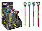 DC POP PEN TOPPER -  CHOOSE YOUR DESIGN - FUNKO 1 PER ORDER HULK, SPIDERMAN