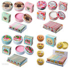 Lip Gloss in Metal Tin Container Lip Balm Novelty Floral Emoti Flamingo Pug D05