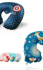 New U Shape Inflatable Memory Neck Air Pillow Travel Pillow Soft Cushion