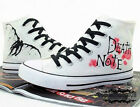 new!Anime Fashion Fans Canvas Shoes Death Note Sneaker
