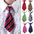 Women Girls Kid Fashion Party Adjustable Tie Necktie Striped Polka Dots Plaids