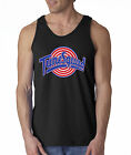New Way 487 - Men's Tank-Top Tune Squad Space Jam Basketball Team