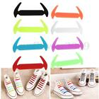 12 Color Shoelaces Elastic Silicone Shoe Lace No Tie For Universal Shoes New
