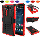 Heavy Duty Shock Proof Hybrid Impact Rugged Stand Case Cover For LG Phones