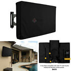 """Outdoor Black / White  LCD LED TV Cover Waterproof Television Protector 32""""-46"""""""