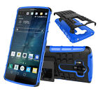 Hybrid Rugged Anti-shock Armor Kickstand Heavy Duty Case Cover For LG G Flex 2