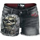 Iron Maiden  Pantaloncini donna - Black Premium by EMP Signature Collection