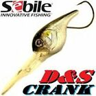 "SEBILE D & S CRANK, 2-3/4"", 7/8 oz, NEW IN THE BOXES, CHOICE OF COLORS"