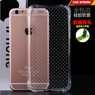 Rubber Clear Transparent Soft Silicone Gel Back Case Cover For iPhone 5 5s 6 6+