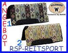 "♞Busse Wildhorn Southwest Pad Westernpad Close Contact 32""x32"" dick gepolstert"