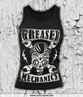 ROCKABILLY GREASER MECHANICS | T-SHIRT  TANKTOP| ROCKABELLA PINUP ROCK N ROLL