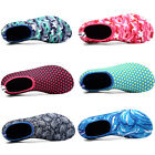 Womens Mens Water Shoes Aqua Socks Slip On Flexible Pool Beach Swim Surf GYM