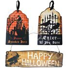 Gisela Graham Halloween Party Door Wall Hanging Signs Plaque Home Decoration