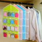 Up 16 Pockets Over Door Hanging Bag Rack Hanger Storage Organizer
