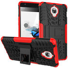 Dual Layer Shockproof Hybrid Rugged Case Cover w/ Kickstand for OnePlus 3