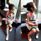 Toddler Kids Baby Girls Summer Clothes Outfits Princess Dress Tutu Skirt 2-7Y