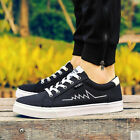 Hot Men's New Fashion Canvas Cross Lace Up Round Toe Sneakers Casual Shoes 2016