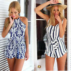 Sexy Women Summer Clubwear Playsuit Party Club Jumpsuit&Romper Shorts Trousers