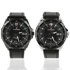 New Hot Leather Strap Watch Men's Quartz Wristwatches Naviforce Nf9056 Jf