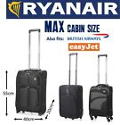 Aerolite / 5 Cities RYANAIR MAX Carry On Hand Cabin Luggage 55x40x20 Suitcase