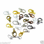 Lobster Claw Trigger Clasps Jewellery Findings 10, 12, 14, 16mm (CBR)