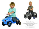 Big Bobby Ride On Car Red Blue or Benz SLS AMG by Simba Smoby Toddler Toy