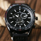 Men's V6 Sport Army Quartz Wrist Watch Fashion Big Dial Leather Band Xmas Gifts