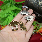 Fantastic 12X Antique Decorative Jewelry Gift Wooden Box Hasp Latch Lock