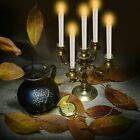 3/5/9/10Pcs Flameless LED Flickering Candle Lights Tealight Wedding Xmas Decor