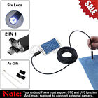 5.5mm USB Endoscope Inspection Camera Borescope 5/10M for Android PC Computer US