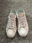 Leather Converse All Star Tan Rose Gold, Nude, Size 5, Sold Out!