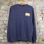 Obey El Producto Crew Sweatshirt Heather Navy S,M,L,XL.