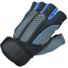 Men Weight Lifting Gym Fitness Workout Sports Training Exercise Half Gloves New