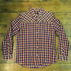 Insight New Long Sleeve Check Shirt Navy Red size M