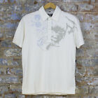 Volcom Compress Casual Short Sleeve Polo Shirt New - Vintage White - Size: S L