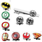 Buy 2 Get 1 Free Engravable Superhero The Avengers Cufflinks Tie Bar Clip Clasp $9.99 USD