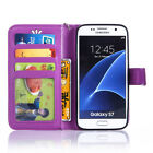 Luxury Leather Shockproof Flip Card Pocket Stand Case Cover For Samsung Galaxy