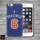 Kristaps Porzingis NY Knicks Jersey THIN case cover iPhone 4 5c 5s SE 6s 7 plus
