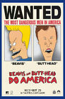 BEAVIS AND BUTTHEAD DO AMERICA Classic Movie Poster Art Deco Mike Judge P4003