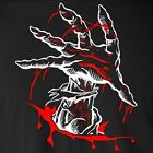 ZOMBIE HAND T-Shirt creepy bloody halloween walking dead costume party