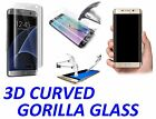 3D Curved Full Cover Tempered Glass Protector For Samsung Galaxy S6 S7 EDGE PLUS