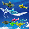 Robotic Shark Toy Robo Fish Water Activated Battery Powered  fish Kids